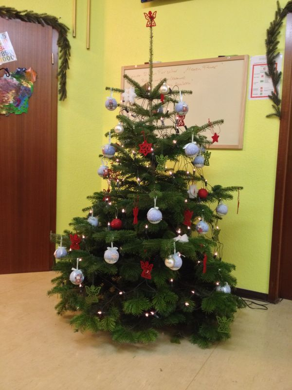 Weihnachtsbaum Kiga Aufenau