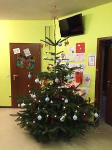 Weihnachtsbaum KIGA Aufenau 2014